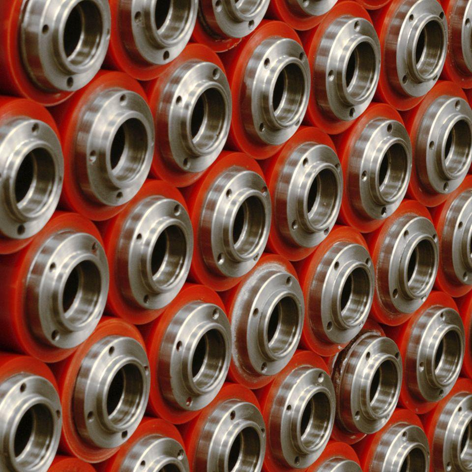 Rivestimento metalli con poliuretano 1